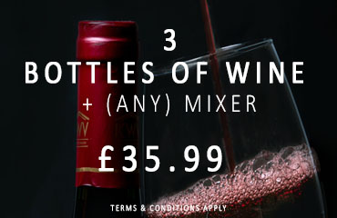 Dial-a-crate.com 3 Bottles Of Wine Special Offer Banner