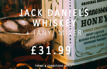 Dial-a-crate.com Jack Daniels Whiskey Special Offer Banner