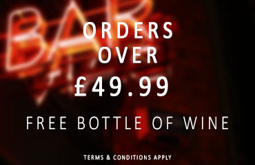 Dial-a-crate.com Orders Over £50 Free Bottle Of Wine Special Offer Banner