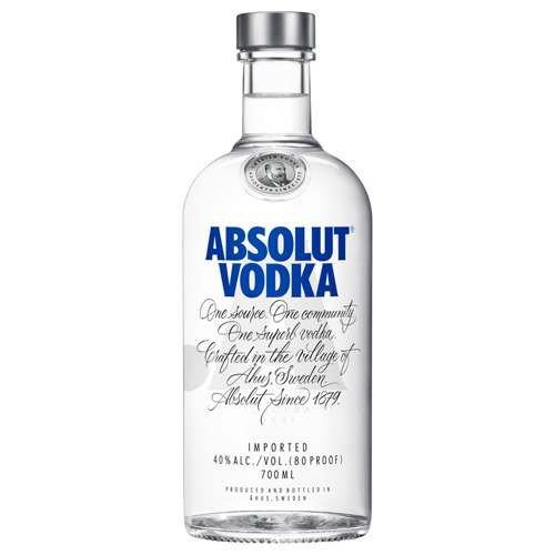 Dial-a-crate.com Late Night Bottle Of Absolut Vodka Delivery Cardiff Product Image
