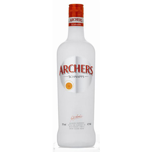 Dial-a-crate.com Late Night Bottle Of Archers Peach Schnapps Delivery Cardiff Product Image