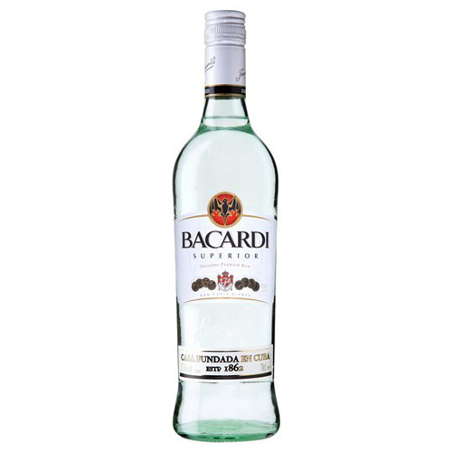 Dial-a-crate.com Late Night Bottle Of Bacardi Rum Delivery Cardiff Product Image