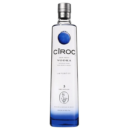 Dial-a-crate.com Late Night Bottle Of Ciroc Vodka Delivery Cardiff Product Image