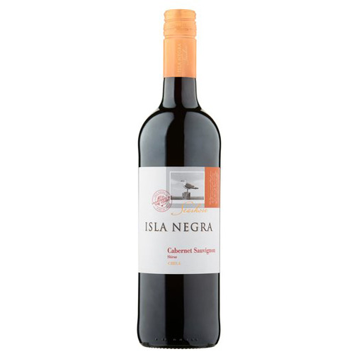 Dial-a-crate.com Late Night Bottle Of Isla Negra Cabernet Sauvignon Delivery Cardiff Product Image