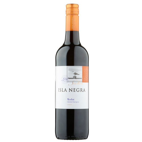 Dial-a-crate.com Late Night Bottle Of Isla Negra Merlot Delivery Cardiff Product Image