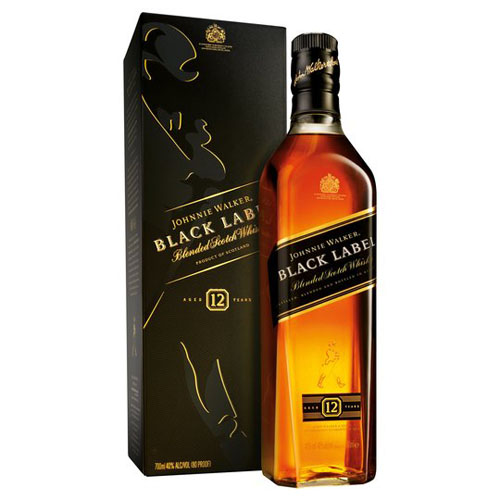Dial-a-crate.com Late Night Bottle Of Johnny Walker Black Label Delivery Cardiff Product Image