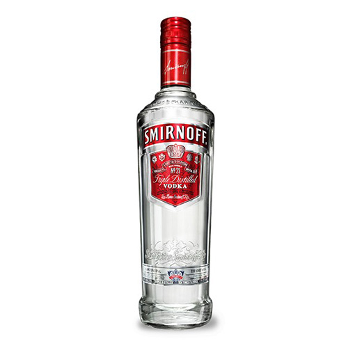 Dial-a-crate.com Late Night Bottle Of Smirnoff Vodka Delivery Cardiff Product Image