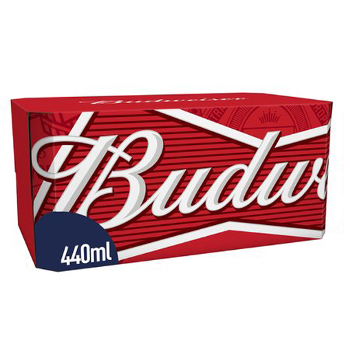 Dial-a-crate.com Late Night Cans Of Budweiser Delivery Cardiff Product Image