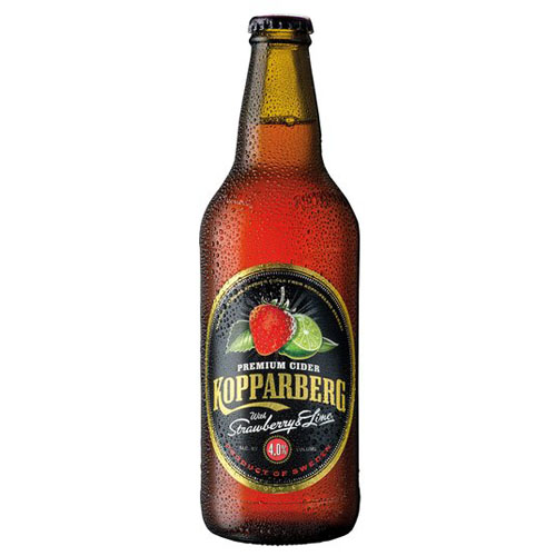 Dial-a-crate.com Late Night Cans Of Kopparberg Strawberry Lime Cider Delivery Cardiff Product Image