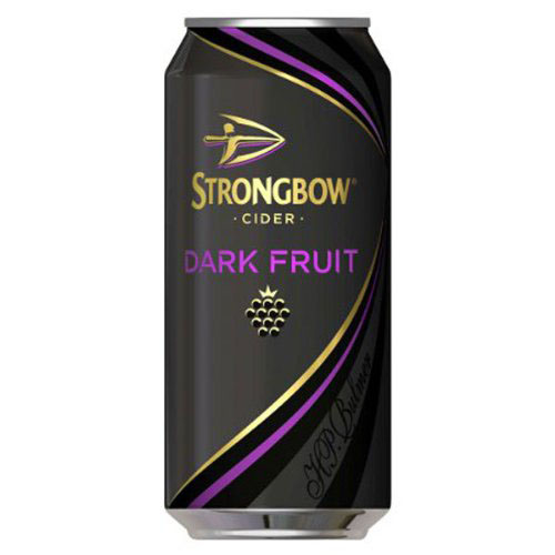 Dial-a-crate.com Late Night Cans Of Strongbow Dark Fruit Delivery Cardiff Product Image