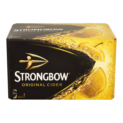 Dial-a-crate.com Late Night Cans Of Strongbow Delivery Cardiff Product Image